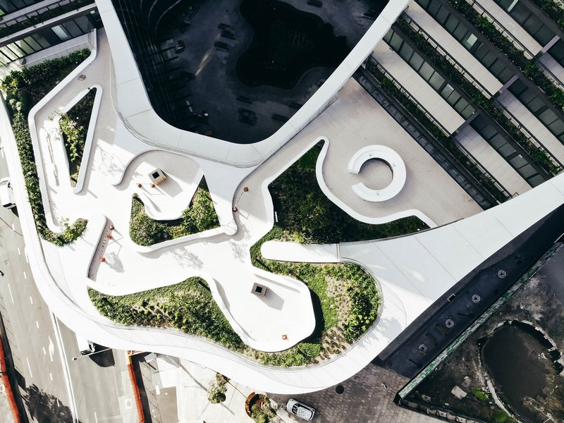Infinity by Crown Group - aerial view