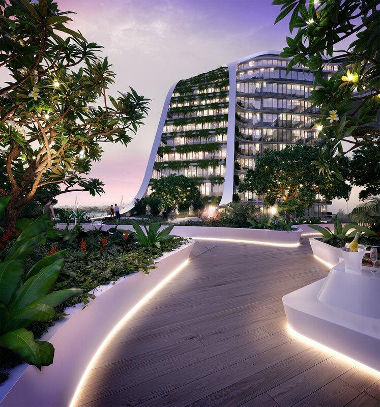 Green Square - Roof Landscape